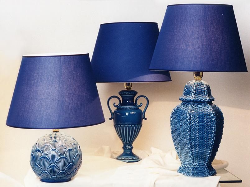 Lampade Classiche In Ceramica: Wall lamp ceramic decorated rustic lights cristalensi.